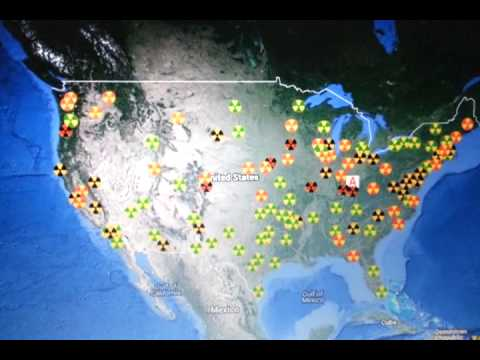 RADCON ALERT Elevated And High Radiation Levels Across America - Us radiation levels map