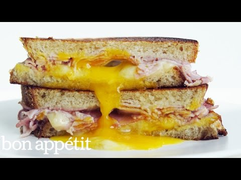 The Ultimate Ham, Egg and Cheese Sandwich | Bon Appetit