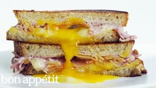 The Ultimate Ham, Egg and Cheese Sandwich  Bon Appetit