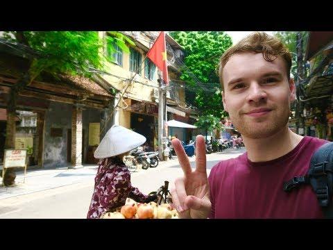 HANOI, VIETNAM. RAW OLD QUARTER TOUR 🇻🇳
