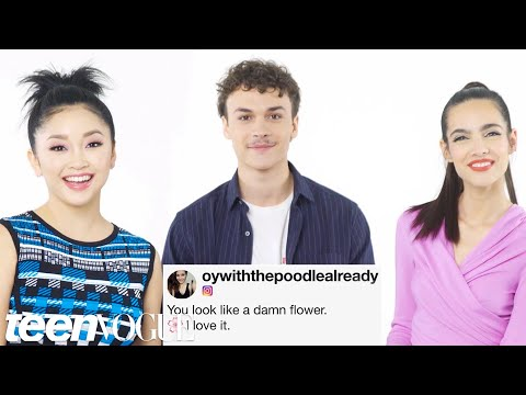 The Cast of Deadly Class Compete in A Compliment Battle  Teen Vogue