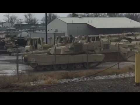 Chevy Tahoe vs M1A3 Abrams! - YouTube