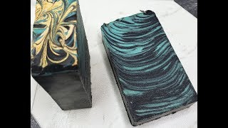 CREATING AND CUTTING MESMERIZED HANDMADE SOAP MAKING VIDEO