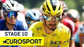 Tour de France 2019 | Stage 10 Highlights | Cycling | Eurosport