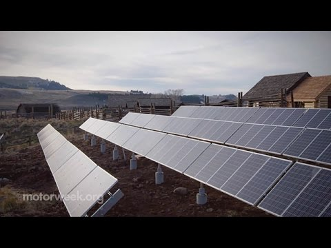 Yellowstone Park Recycles Vehicle Batteries for Solar Power