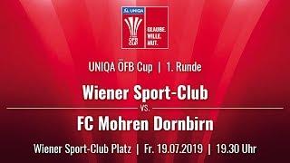 19.07.2019 | 19 30 | Wiener Sport-Club (WSC) - FC Mohren Dornbirn (FCD)