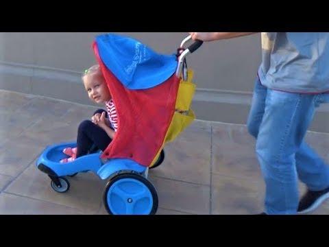 ВЛОГ Ору как не знаю кто ! Гуляем в парках для детей ! Развлечение для всей семьи ! - видео онлайн