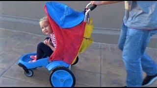 ВЛОГ Гуляем в парках для детей! Развлечение для всей семьи !