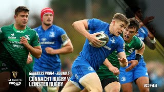 Guinness PRO14 Round 5 Highlights: Connacht Rugby v Leinster Rugby