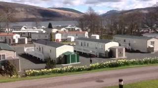 Argyll Caravan Park Inveraray             The Silence is Deafening