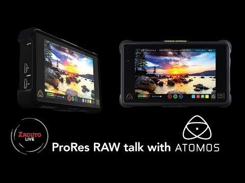 ProRes RAW Talk with Atomos