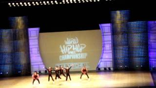 Onizawa Ikka Performing at Hip Hop International Championships