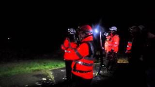 Irish Coast Guard Exercise - Flare Demonstration Crosshaven County Cork