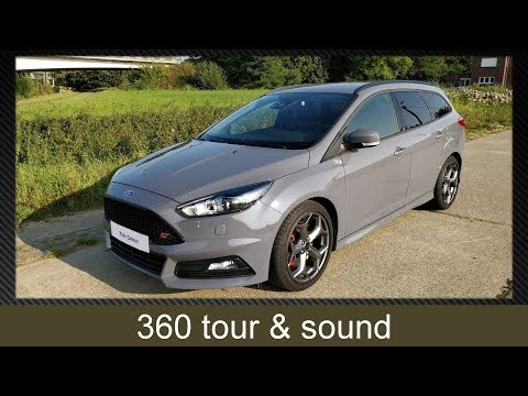 360 tour and sound: 2017 Focus ST-3 Estate 2.0 Ecoboost