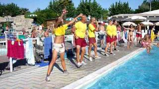 Dance in water - Camping Riccione 2009 / La Bomba