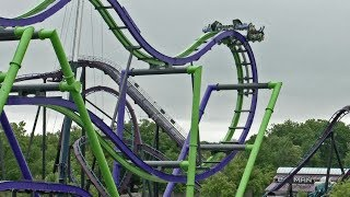 Joker on-ride & off-ride multicam HD POV Six Flags New England
