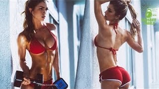 anllela sagra fitness model back workouts and shoulder workouts for women