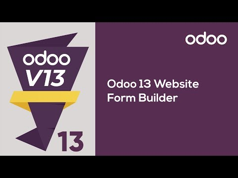 Odoo 13 Website Form Builder
