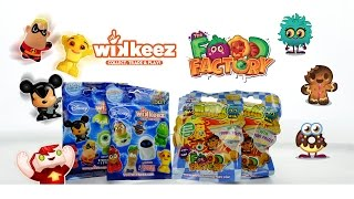 Super FUN Disney Wikkeez and MOSHI Monsters Food Factory Surprise Blind Toy Bags
