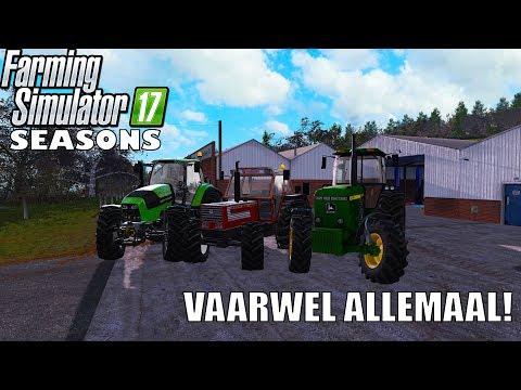 'VAARWEL ALLEMAAL!' Farming Simulator 17 Seasons Shamrock Valley EINDE thumbnail