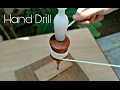 Old Carpanter Hand Drill 1/4 Size How To Use....Indian Tools