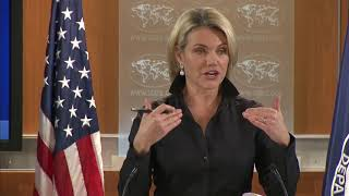 NEWS ALERT TODAY 11.17.17, Department of State Press Briefing with Heather Nauert