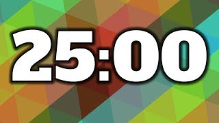 25 Minute Timer