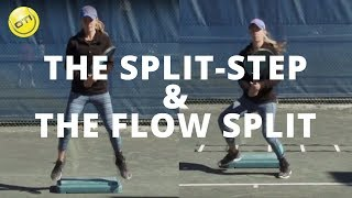 Tennis Footwork Tip: Master The Split-Step & The Flow Split-Step