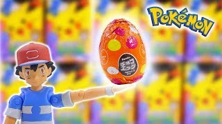 Pokemon chocolate eggs Unboxing Toys - Surprise egg opening  Movie for Kids