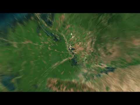 SATELLITE EARTH ZOOM