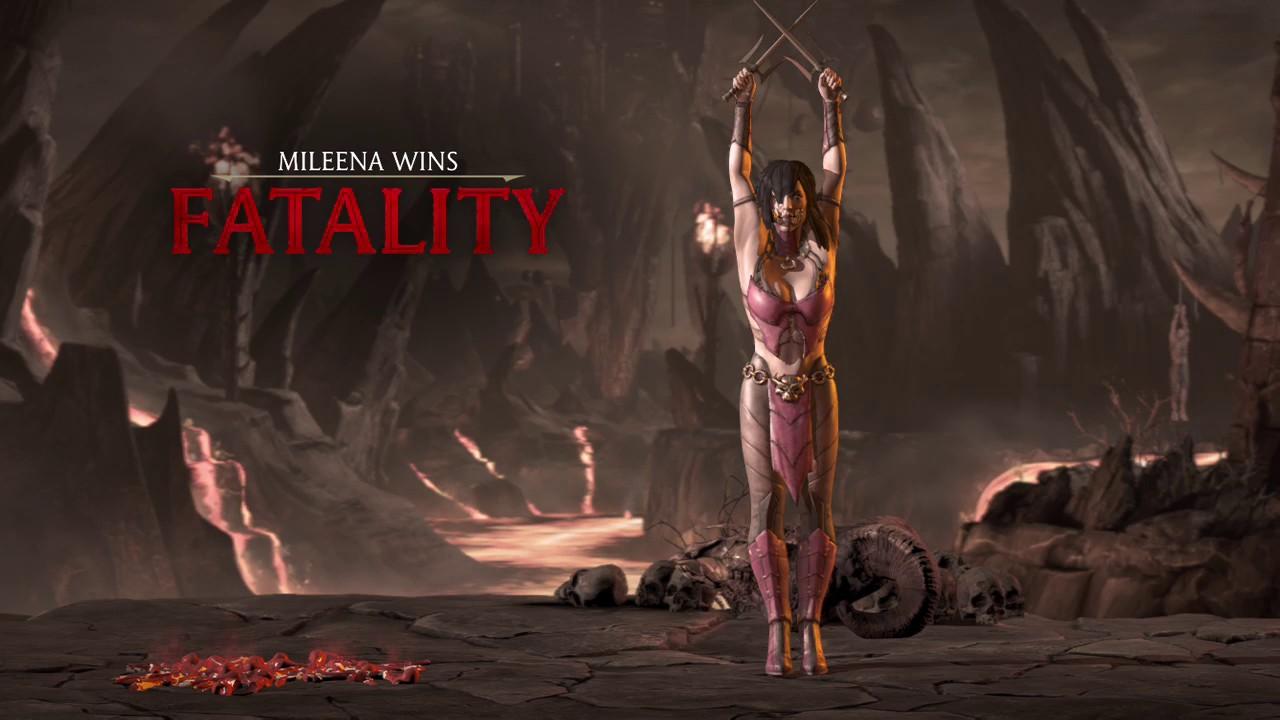 Mortal Kombat X Mileena S Fatality 3 Youtube