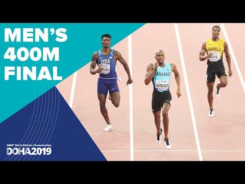 Men's 400m Final   World Athletics Championships Doha 2019