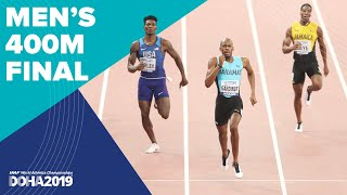 Men's 400m Final | World Athletics Championships Doha 2019