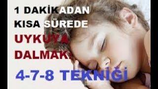 11 Saniyede Uyumanın Yolları