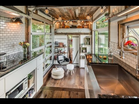 The Alpha Tiny House Has It All Youtube