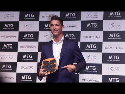 Sixpad x Cristiano Ronaldo Product Launching in Shanghai