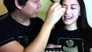 TAG: My boyfriend does my makeup (Tagalog)