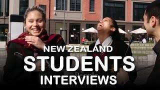 Interviews to New Zealand Students