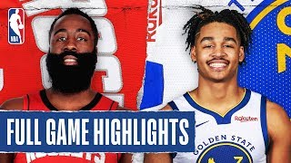ROCKETS at WARRIORS | FULL GAME HIGHLIGHTS | February 20, 2020