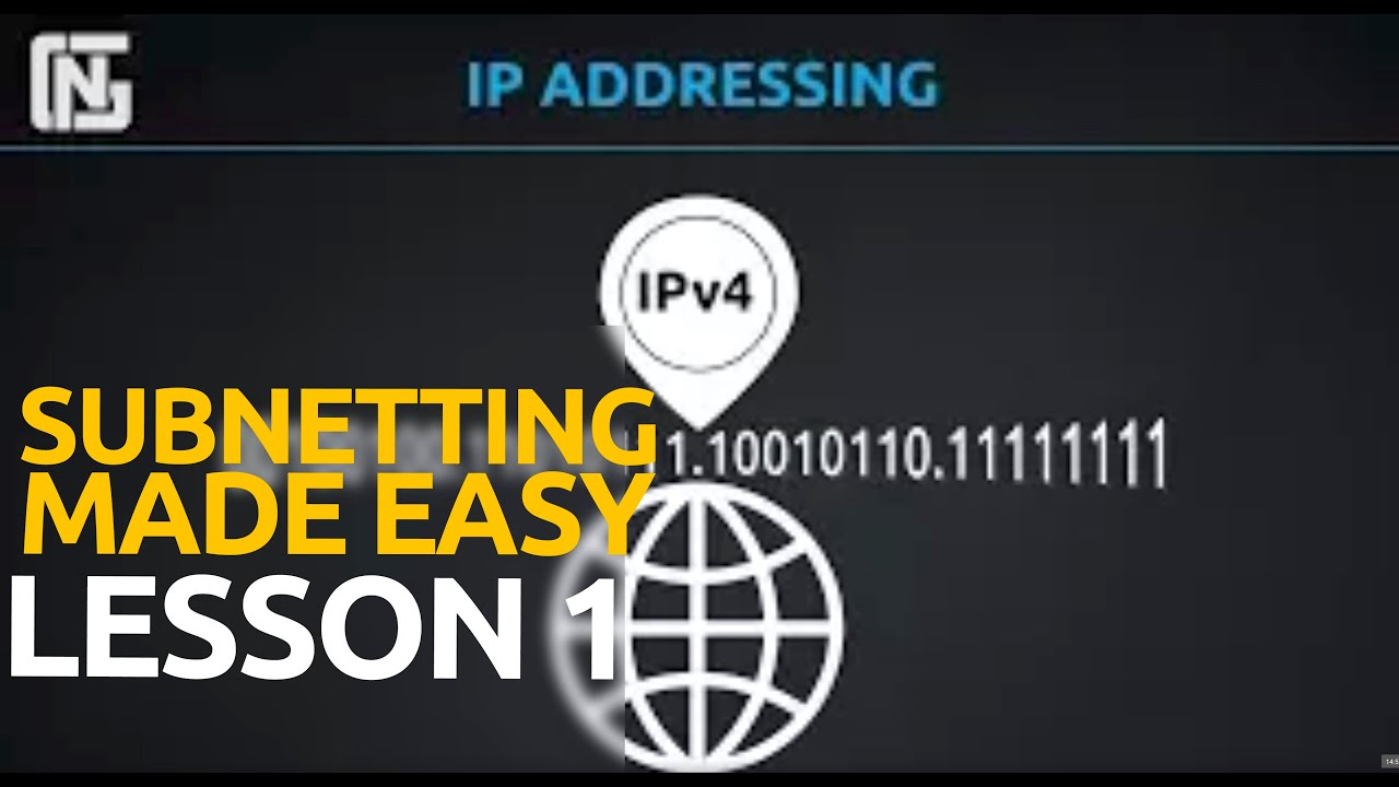 ipv4 addressing lesson 1 binary and the ip address youtube