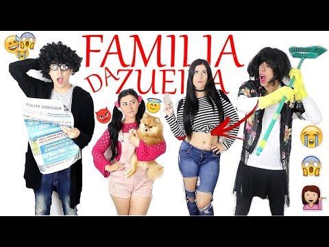 FAMÍLIA DA  ZUEIRA 1 É FAMILIA QUE FALA ?