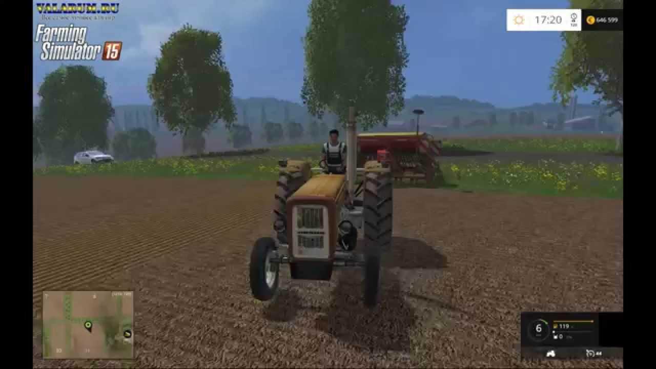 Трактора - Моды для Farming Simulator 2015.