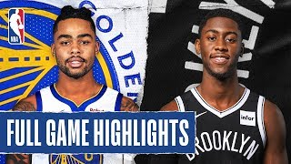 WARRIORS at NETS   FULL GAME HIGHLIGHTS   February 5, 2020