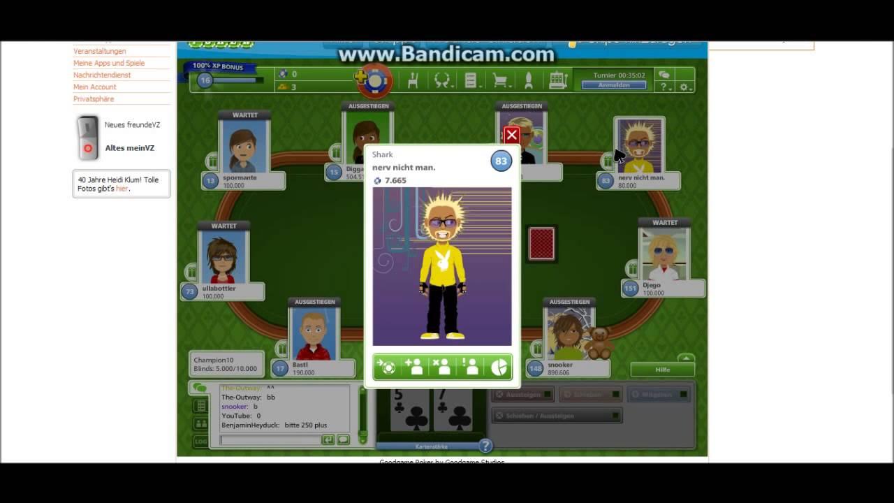 Goodgame Poker 2 Spielen Com