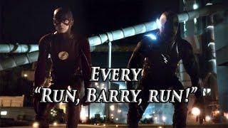 "Every ""Run,Barry,run"" - The Flash Season 1-3"
