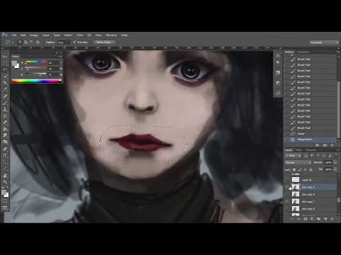 Photoshop SpeedPaint - Mae And Sho