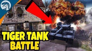 HUGE TANK DEFENSE, BIG ARMIES BATTLE | Men of War: Assault Squad 2 Gameplay