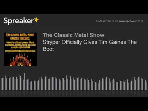 Stryper Officially Gives Tim Gaines The Boot
