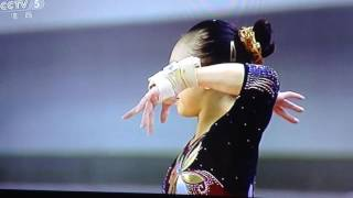 Mao Yi 2016 Chinese National Championships fx event final