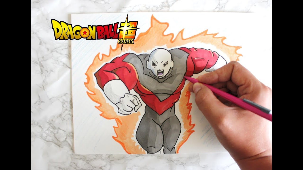 Dessiner jiren dragon ball super youtube - Dessin de dragon ball super ...
